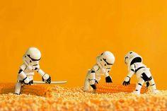 Stormtrooper toys by Zahir Batin