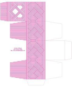 Atado Coração dom de impressão caixa disponível em 5 cores!
