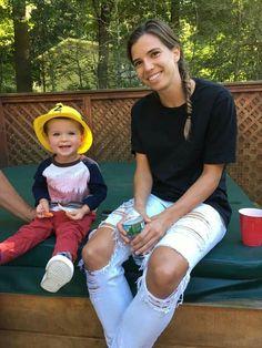 Tobin Heath her nephew Cole 09.28.2016