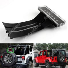 36.99$  Buy now - http://aliuc1.shopchina.info/1/go.php?t=32736507754 - Sale Fit for Jeep Wrangler JK 2007-2015 LED 3rd Third Red Brake Tail Light Rear Lamp 12V  #magazineonlinewebsite