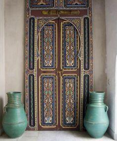 Moroccan inspired door