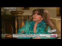 ▶ Verónica Castro: Entrevista con Cala (2a parte) Completa - YouTube