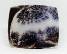 79 x 69 mm Agata dendritica. Agate gemstone cabochon di HELGASHOP su Etsy
