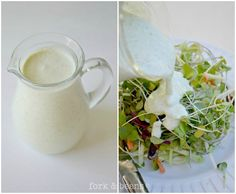 Non-Dairy Ranch Dressing - My favorite vegan ranch dressing so far. I never think far enough in advance to soak my cashews so I grind them really finely in my coffee grinder before putting them in the blender and it works almost as well as soaking them.