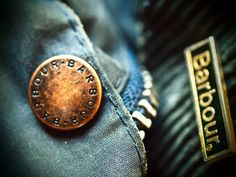 Barbour Pin Logo and Button