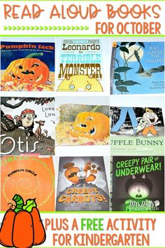 Read aloud books for