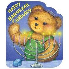 Happy Hanukkah, Corduroy by Don Freeman (Board book, günstig kaufen Best Christmas Books, Christmas Fun, Holiday Fun, Favorite Holiday, Holiday Decor, Hanukkah Lights, Hanukkah Decorations, Hannukah, Happy Hanukkah