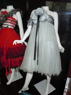 Tim Burton's Alice in Wonderland dresses