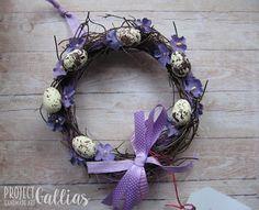 ProjectGallias: #projectgallias Handmade easter wreath, wielkanocny wianuszek