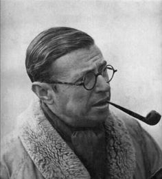 Jean-Paul Sartre, //Het existentialisme is een humanisme// - Humanistische Canon Jean Paul Sartre, Dante Alighieri, Carl Sagan, Sartre Quotes, Krishnamurti, Famous Philosophers, Writers And Poets, Book Writer, Playwright