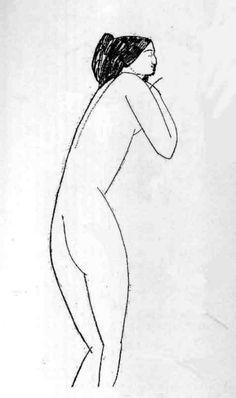 The Athenaeum - Anna Akhmatova (Amedeo Modigliani - )Private collection Dates:circa 1911