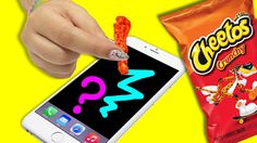 STYLUS OUT OF CHEETOS?! ♥ DIY Touch Screen Stylus!