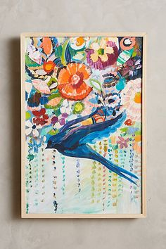 Mooreland Wall Art, Free Bird #anthropologie