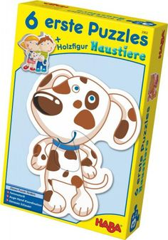 HABA 6 erste Puzzles Haustiere - günstig auf Rechnung bestellen, Bonuspunkte sammeln, DHL Blitzlieferung!