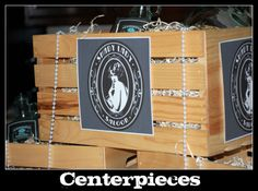 1920s Centerpieces | Simply Creative Insanity: 1920's Style Birthday Bash