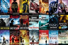 Maximum Ride by James Patterson.  The best book series ever.  My first book obsession, still is my book obsession, and forever will be my book obsession.  The series that has for years made me emotional, teary eyed, obsessive, and a little crazy.  No matter how many times I read each book, they will forever have the same impact as the first.
