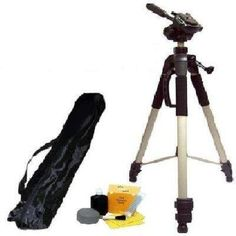 Introducing PROFESSIONAL 57 Inch Camera Tripod with Carrying Case For The Panasonic Lumix DMCGF1 FZ35 Digital Cameras  Clearmax 5 Piece Cleaning Kit PLUS BONUS MICROFIBER CLEANING CLOTH. Great product and follow us for more updates!
