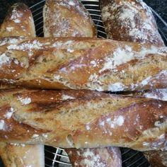 Pain Au Levain, Vegan Recipes, Yummy Food, Bread, Kitchenaid, Breakfast, Healthy, Pizza, Gourmet