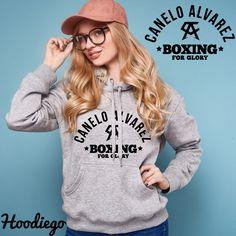 ba1ec69fba4bc CANELO ALVAREZ - BOXING FOR GLORY - BLACK Unisex Hoodie - Hoodiego.com