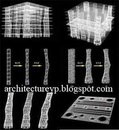 Toyo Ito Construction Section   Google Search. Toyo ItoSendaiArchitectural  ModelsArchitecture DrawingsConstructionDesigners