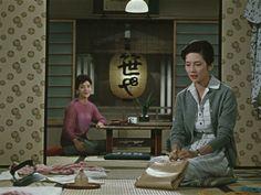 Late Autumn (1960, dir. Yasujirô Ozu)   Production Design Tatsuo Hamada. Art Direction Tatsuo Hamada.