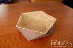 Hyalyn Ceramic Ashtray : A La Modern