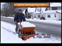 The Muck Truck is a very useful machine when clearing snow.The 4WD Muck Truck Power Barrow moves building materials over most terrains. The Muck Truck is used by builders, landscapers and tree surgeons. http://www.fresh-group.com/muck-truck.html