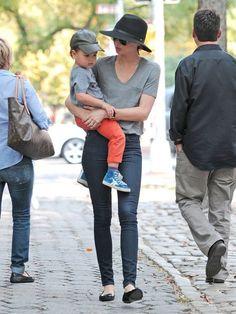Miranda Kerr and Flynn Bloom Photos - Miranda Kerr Heads To Dinner With Flynn - Zimbio