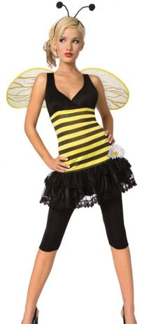 Marley asked me to be a bee for Halloween!!!