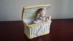 Gebruder Heubach Bisque porcelain Piano Baby doll Figurine
