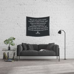 Buy #006 - OWLY quote Wall Tapestry #frame #building #canvas #canvasprint #walldecor #prints #artwork #print #canvas #poster #print #wallappers #background #owlychic #tapestry