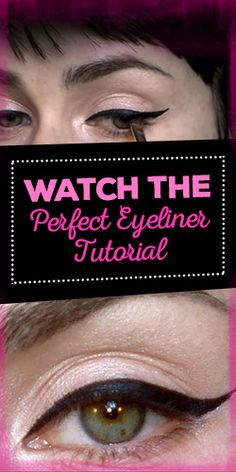 Watch The Perfect Eyeliner Tutorial