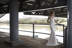 Blanch – Limor Rosen Bridal Couture  different take on the open back look! beautiful beading