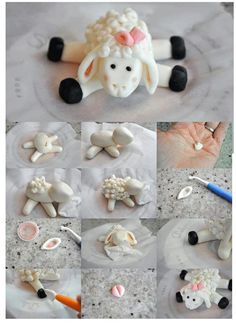 Cake Decorating Figures How To Make : Figurines on Pinterest Cake Decorating Tutorials ...