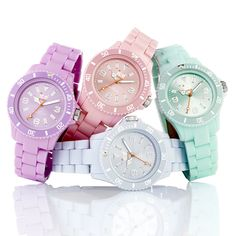 ice watches classic pastel. another huge WANT on my list..