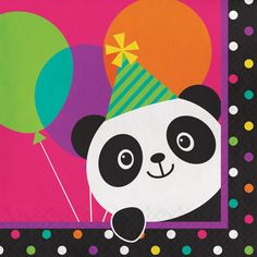 Panda-Monium This Panda-Monium Party Supplies Pack is adorable! Bring a colorful touch to your child's panda theme birthday party with our party bundle. Panda Birthday Party, Girls Birthday Party Themes, Panda Party, Birthday Party Celebration, Bear Party, Birthday Supplies, Bear Birthday, Birthday Party Decorations, Party Supplies