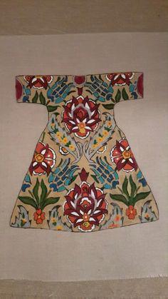 Kumaş boyama-Handmade