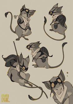 OVOPACK Fantasy Character Design, Character Design Inspiration, Character Concept, Character Art, Character Types, Creature Drawings, Animal Drawings, Art Drawings, Drawing Faces