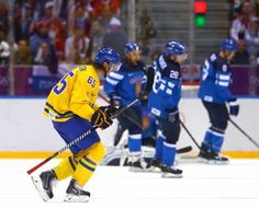 Sweden edges Finland, scoring two goals in the second period, to move on to the…