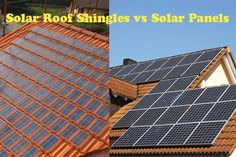 Solar Roof Shingles vs Solar Panels. Their main differences and similarities are portrayed in their individual names. Solar roof shingles are in fact a ...