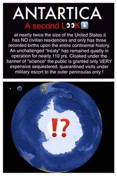 "BECAUSE ITS NOT A  LAND MASS ITS THE ""CONTINENTAL CIRCLE"""