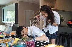 Ugly Duckling The Series: Pity Girl.  Aston is so cute like a puppy. Thai lakorn