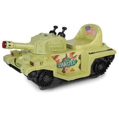 The Light And Sounds Ride On Tank