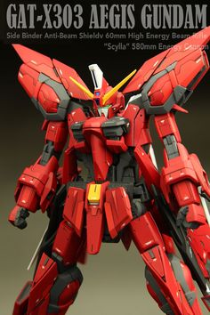 GUNDAM GUY: MG 1/100 Aegis Gundam - Customized Build