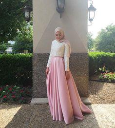 Dress Hijab Casual Fashion New Ideas Hajib Fashion, Muslim Fashion, Modest Fashion, Dress Fashion, Hijab Dress Party, Hijab Style Dress, Dress Up, Hijab Outfit, Hijab Casual