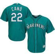 #MLBShop.com - #MLBShop.com Men's Seattle Mariners Robinson Cano Majestic Northwest Green Alternate Cool Base Player Jersey - AdoreWe.com