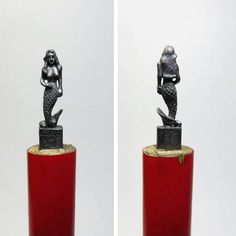 I Turn Pencils Into Miniature PopCulture Sculptures Micro Art - Artist carves miniature pop culture sculptures into pencils