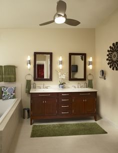 Greens Browns Images Green Bathroom