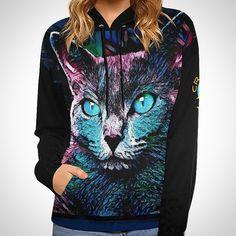 Amera and Grace • Russian Blue Cats  • Design and Photpgraphy by Liona Toussaint • www.crassco.com • Designermode, Textildesign, Shirtdesign, Designershirts, Damenmode, T-Shirts, Katzenshirts, Katzenhoodies Russian Blue, Blue Cats, Cat Design, Graphic Sweatshirt, T Shirt, Hoodies, Sweatshirts, Sweaters, Fashion