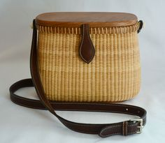 Welcome to Buy Nantucket Baskets - Handmade Nantucket Baskets Old Baskets, Vintage Baskets, Nantucket Baskets, Wicker Purse, Basket Bag, Leather Buckle, Basket Weaving, Rattan, Saddle Bags